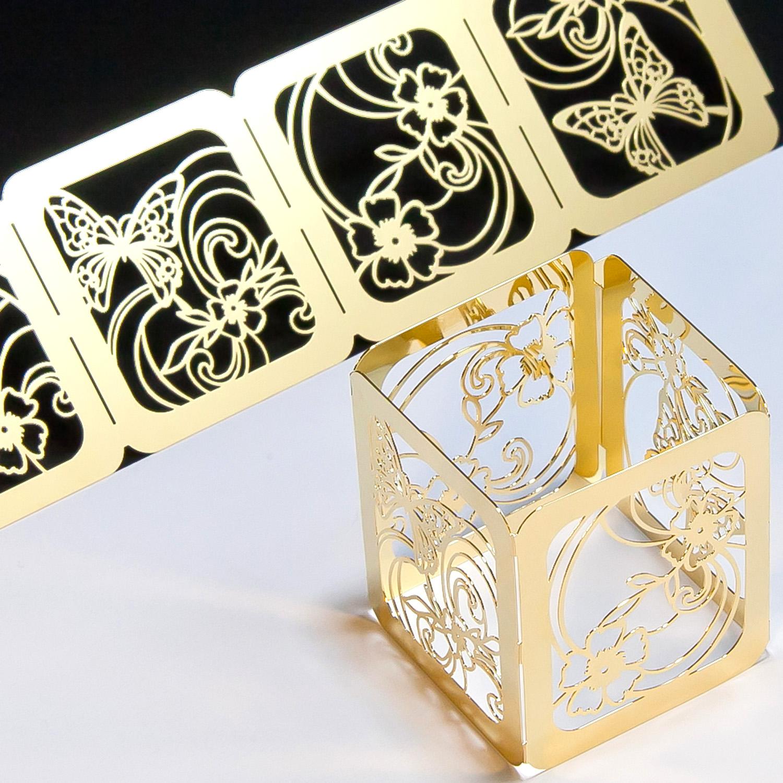 キャンドルカバー「蝶」