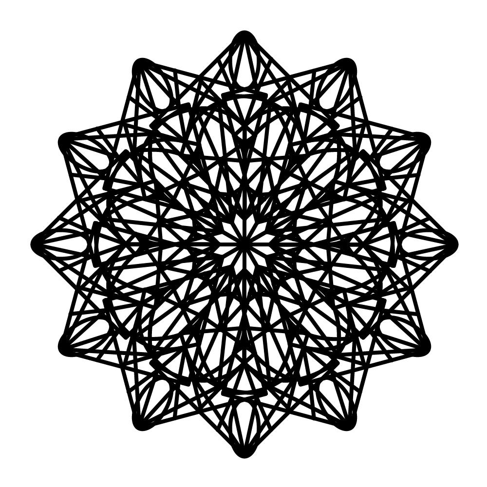 デザインコースター クリスタル