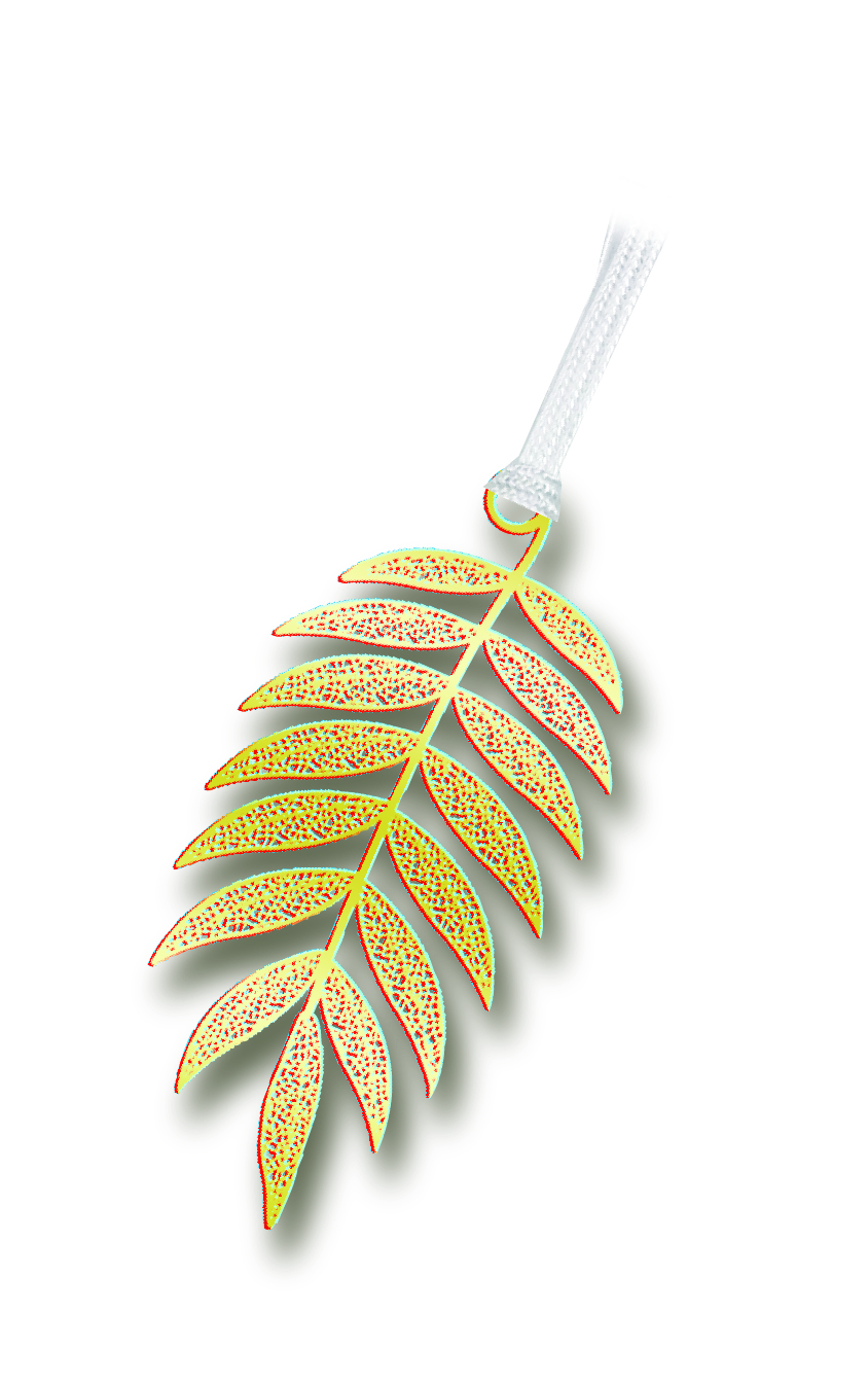 Leaf book mark-ハゼノキ-
