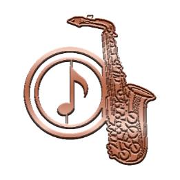 music marker-サックスM